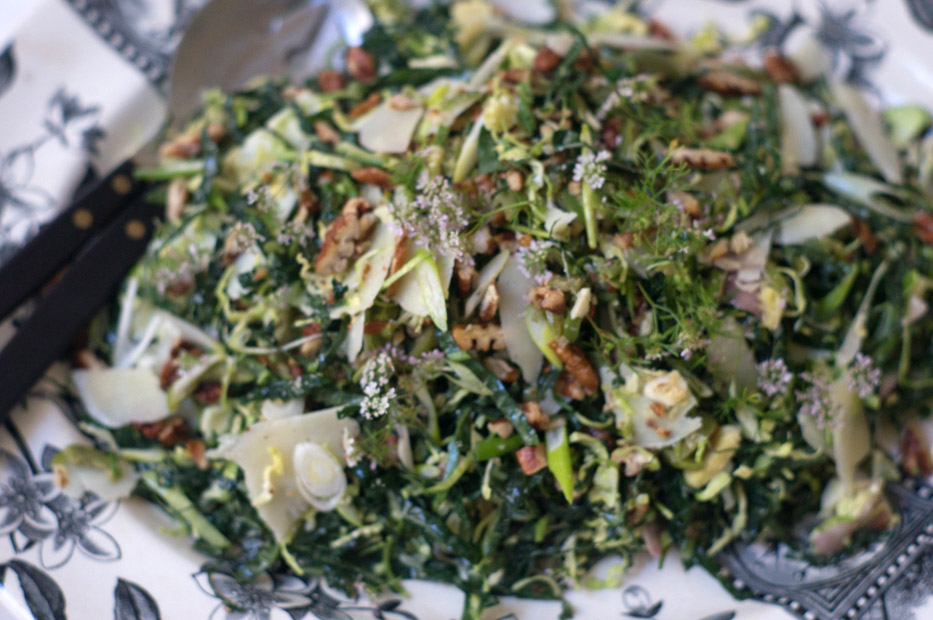 Lacinato Kale and Pecorino Salad